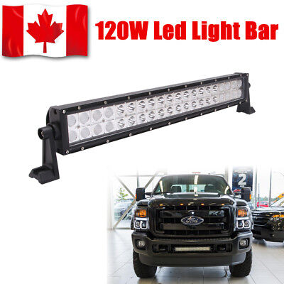 22Inch 120W Led Work Light Bar Flood Spot Combo 4Wd Offroad Suv Ford F150  Truck