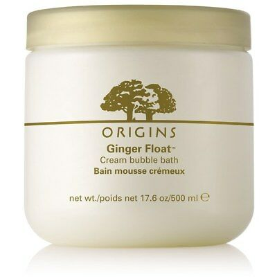 NEW Origins Ginger Float Cream Bubble Bath 17.6 oz/500ml  FREE SHIPPING