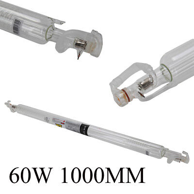 60W Laser Tube Glass Pipe 1000mm for CO2 Cutting Engraving Machine