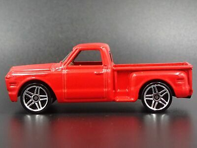 1969 Chevy Chevrolet Stepside Pickup Truck 1:64 Scale Diorama Diecast Model Car