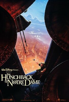 The Hunchback Of Notre Dame (1996) Original  Advance Movie Poster - Rolled - 2-S