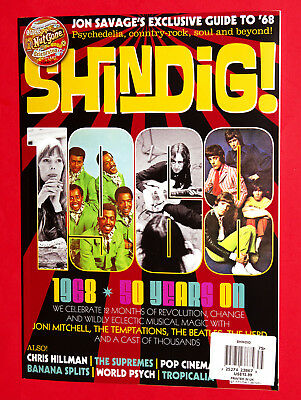 UK SHINDIG Magazine NEW 2018 #75 - 1968 - The Beatles - Joni Mitchell