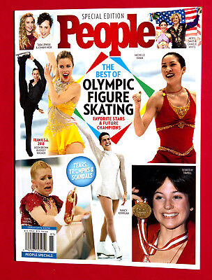 People Special 2018, The Best of Olympic Figure Skating, Brand New Book