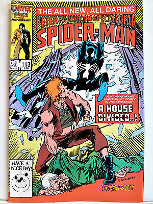"""All New Peter Parker """"The Spectacular Spider-Man Comic"""", Apr 1986 - 113 MARVEL"""