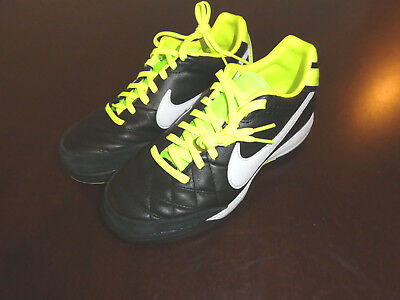 101112efc Nike Tiempo Mystic IV TF turf Soccer Cleats new shoes 454314 013 size 4.5