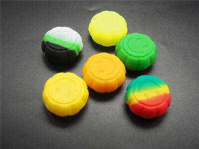 Dab Concentrate Oil Wax Container Nonstick Jars Silicone Shatter Ships Same Day