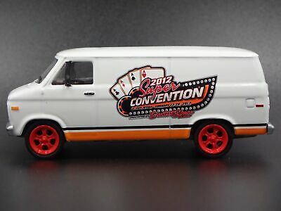 1977 Chevy Chevrolet G-20 Van Rare 1:64 Collectible Diorama Diecast Model Car
