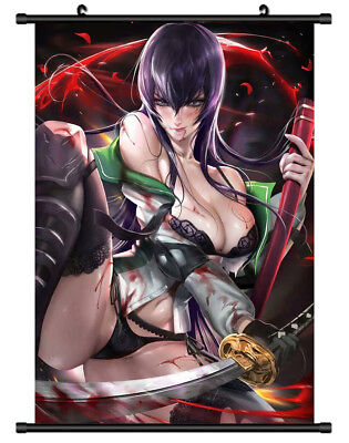 B1634 HIGHSCHOOL OF THE DEAD anime manga Wallscroll Stoffposter 25x35cm