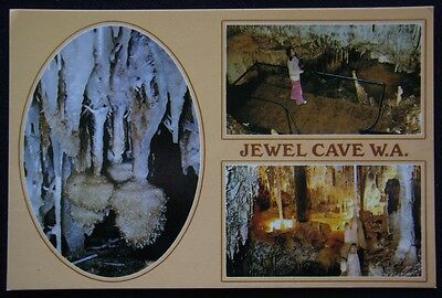 The Jewel Casket Jewel Cave Augusta WA c1980's Postcard (P244)