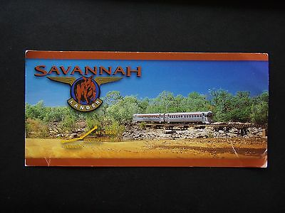 Savannah Lander Train Forsayth Einasleigh Mt Surprise 2002 Postcard