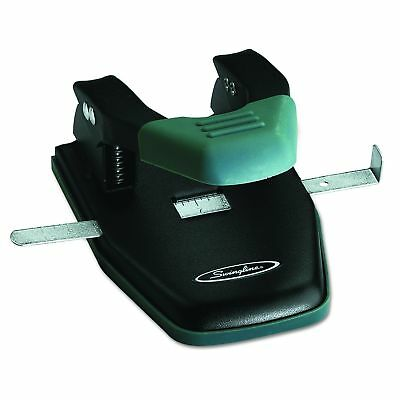 Swingline 2 Hole Punch, Comfort Handle Two Hole Punch, 50% Easier