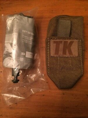 """Tactical Medical Solutions SOFTT-W Tourniquet Wide 1.5"""" With Coyote Pouch!"""