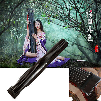 Gu Qin Traditional Chinese Paulownia Wood Guqin Chinese Zither Vintage