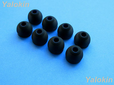 NEW 8pcs Large (BK) Replacement Comfort Adapter Earbuds for Jaybird X3 Earphones
