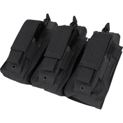 Condor Outdoor Triple Kangaroo M4 M16 Unisex Pouch Mag - Black One Size