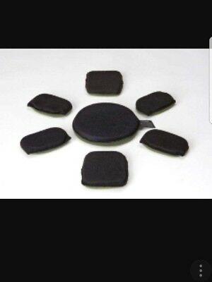 Helmet Replacement Pad Set (7 pads) for ballistic Helmets