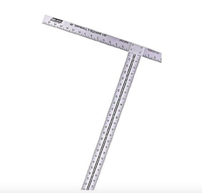 Wal Board Tools Drywall T Square 22 x 48 inch Ruler Taping Measurement Hand Tool