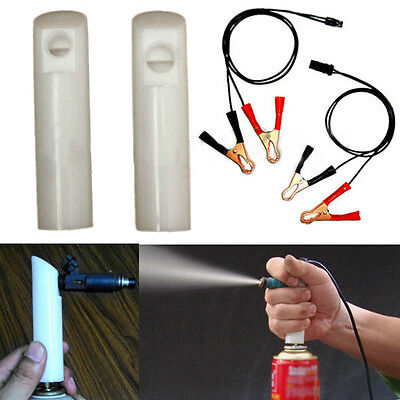 Auto Car Vehicles Tool Universal Fuel Injector Flush Cleaner Adapter Kit Newest