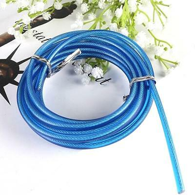 Hot Fitness Crossfit Wire Cable Speed Jump Ropes Skipping Rope Steel