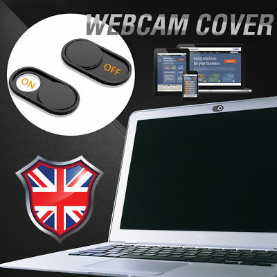 WebCam Cover Open/Close Camera Privacy Sticker For Laptop Tablet Phone UK Seller