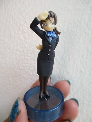 ANA All Nippon airways uniform cabin stewardess 1982 collection mini figure 60mm