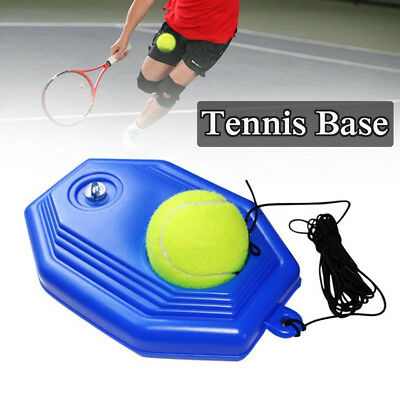 Tennis Training Tool Trainer Practice Ball Self-study Rebound Ball Baseboard Set