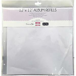 NEW Dovecraft  Snap Load Album Refills 12 Inch X12 Inch  5 Pack