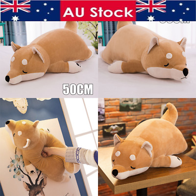 50cm Japanese Anime Shiba Inu Dog Soft Stuffed Animal Plush Doll Toy Cute Pillow