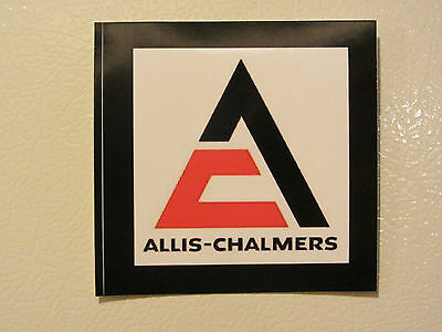 ALLIS CHALMERS TRIANGLE LOGO Bumper Sticker/Decal