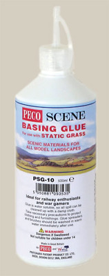 Peco Scene PSG-10 Basing Glue For Static Grass And Scenics 500ml