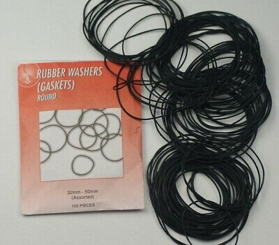 100 o ring GASKETS rubber seal washers EXTRA LARGE WATCHES 32-50mm Repair Kits