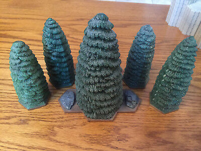 Heroscape 5 Evergreen trees - Road to the Forgotten Forest