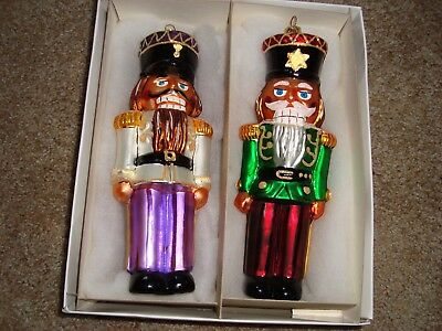 Christopher Radko- Set Of 2  Ornaments-1998-Clara's Beaux- Limited Edition