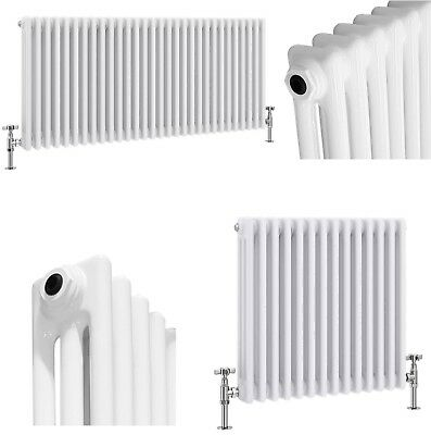 Traditional Column Radiators Horizontal Cast Iron Vintage Style Central Heating