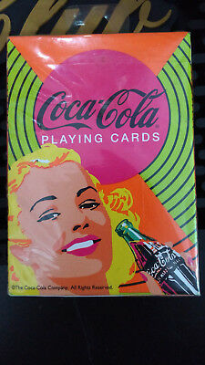 Coca-Cola Retro Playing Cards Bicycle Coke Sealed New