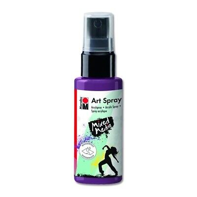 Marabu Acrylspray Art Spray 50 ml, aubergine Marabu 120905039