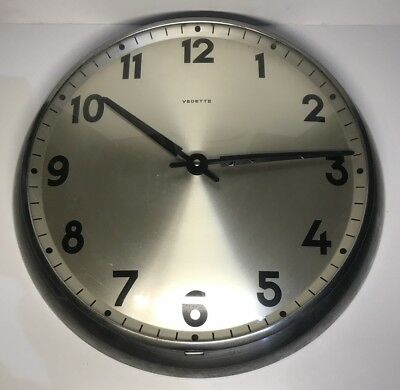 Antique Wall Clock Vintage Brand STAR D 34 Cm See Pictures