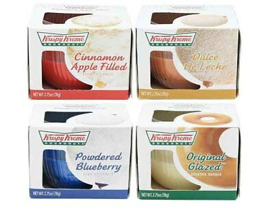 Krispy Kreme 4 Pack Candles