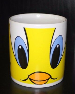 Extra Large Tweety Bird Looney Tunes Toons 1997 Warner Bros Store Coffee Tea Mug