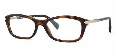 08932b81b8e Authentic Prada Eyeglasses PR 04PV 2AU1O1 Havana Cat Eye Frame 52mm