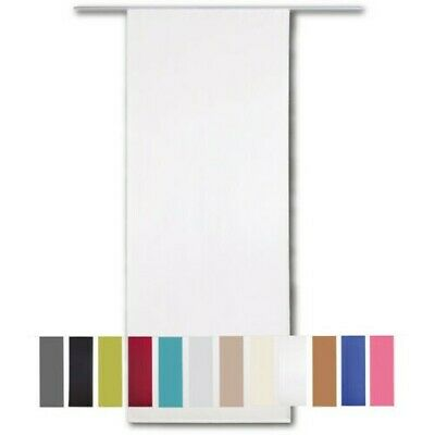 Cortina Corrediza Opaco de Panel Aprox. 60x245cm Superficie Pared Divisoria