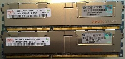 32GB (2x16GB) ECC Ram Hynix HMT42GR7BMR4C - HP Proliant ML330 G6 Server upgrade