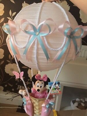 minnie mouse in hot air balloon lightshade for baby bedroom/nursery ❤️Baby gift❤