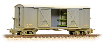 Bachmann 393-025 Covered Goods Wagon WW1 WD Grey Weathered