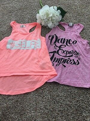 Dancewear Tank Top Lot - Girls Small, Medium