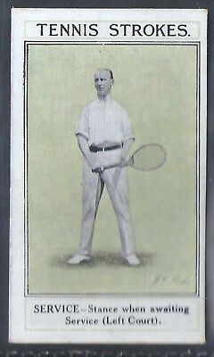 Sarony-Tennis Strokes-#07- Quality Card!!!