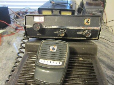 Johnson Messengr 4120 Vintage Powers On, Check Photosnon Working Unit For. Parts