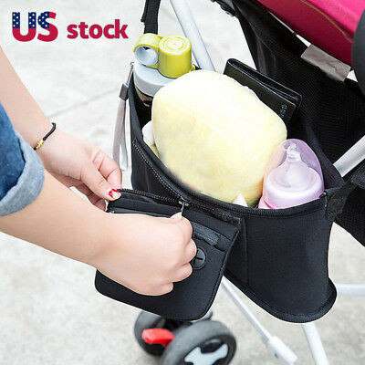 Hot Sale Baby Cart Strollers Bag Organizer Basket Pushchair Cup Bag Portable