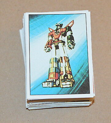 1984 PANINI Voltron CHOOSE Any 10 stickers from the list
