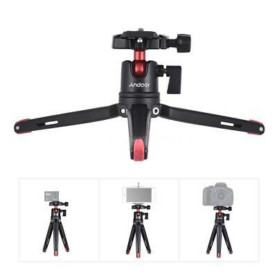 Andoer Mini Tripod Stand + Ball Head for DSLR Camera Camcorder Smartphone M3K0